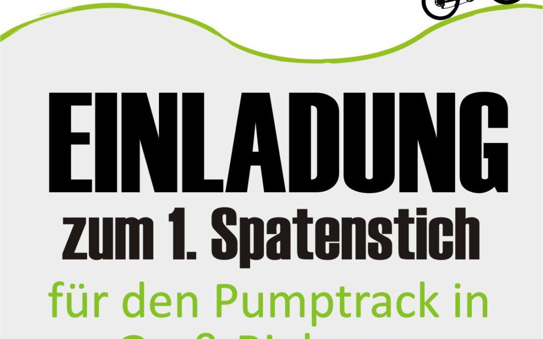 Spatenstich Pumptrack